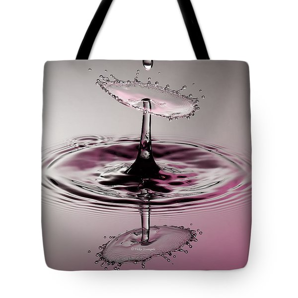 Pink Reflections Tote Bag