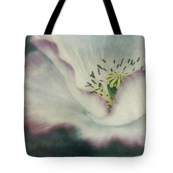 Pink Rimmed Beauty Tote Bag by Priska Wettstein