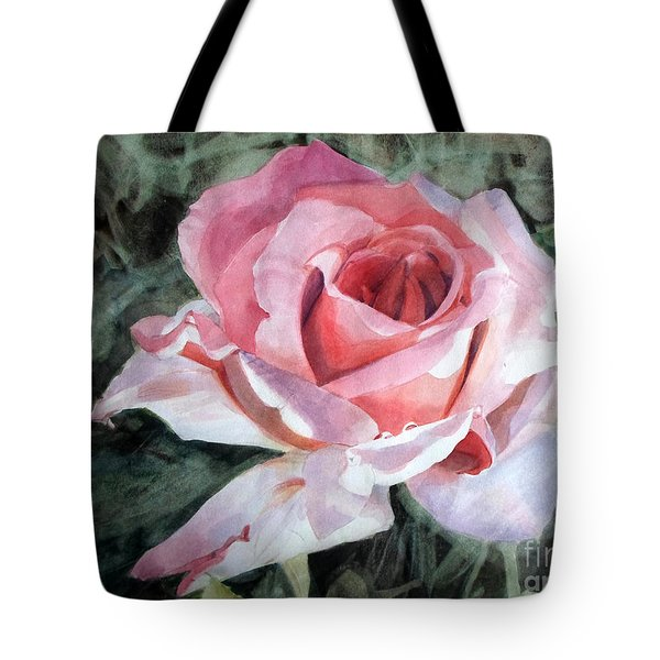 Pink Rose Greg Tote Bag