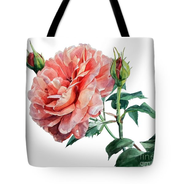 Pink Rose Odette  Tote Bag