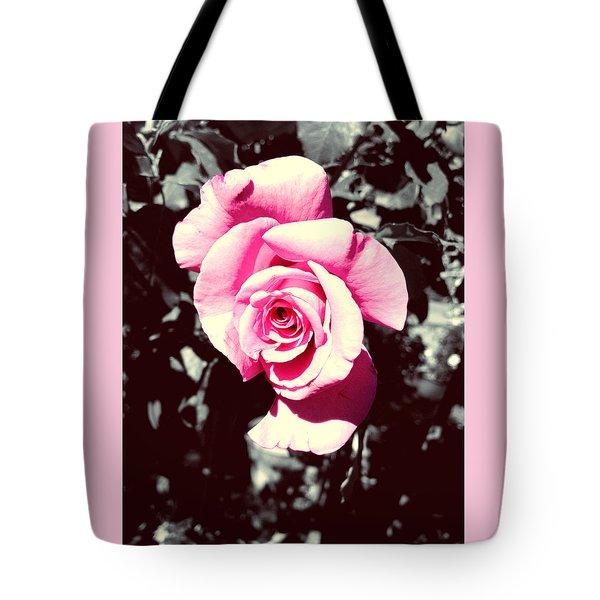 Pink Rosetta  Tote Bag