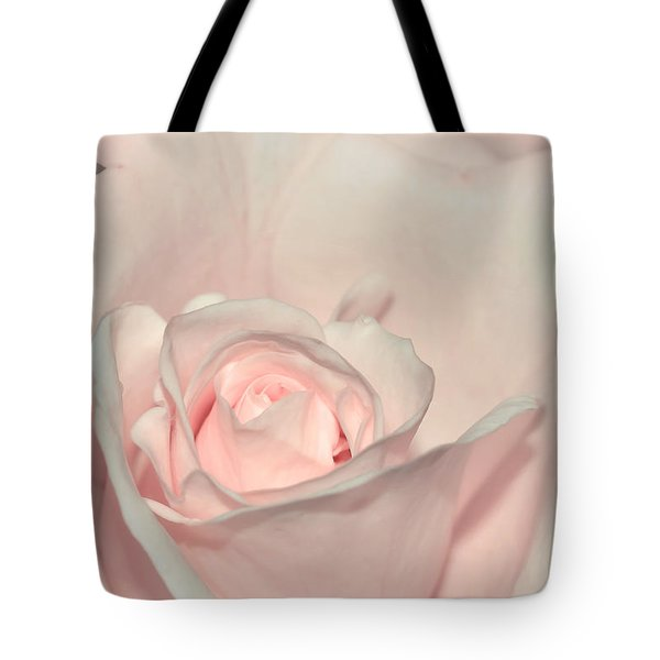 Pink Satin Tote Bag