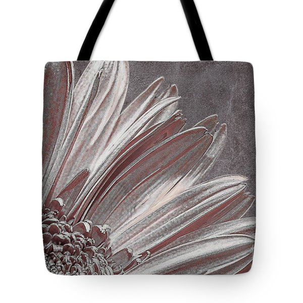 Pink Silver Tote Bag by Lois Bryan