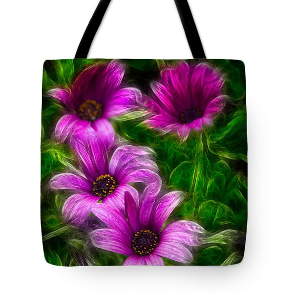 Pink  Tote Bag by Stelios Kleanthous