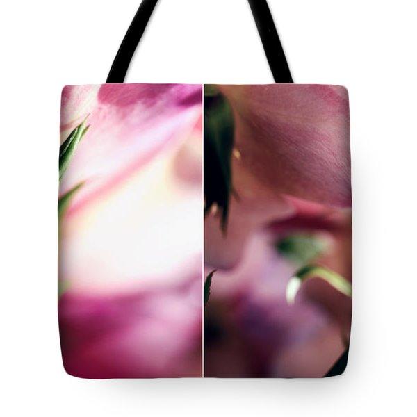 Pink Summer Roses Tote Bag by Sabine Jacobs