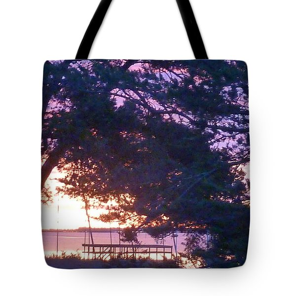 Pink Sunrise Tote Bag by Rogerio Mariani