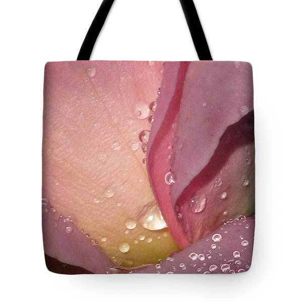 Pink Tea Rose 02 Tote Bag