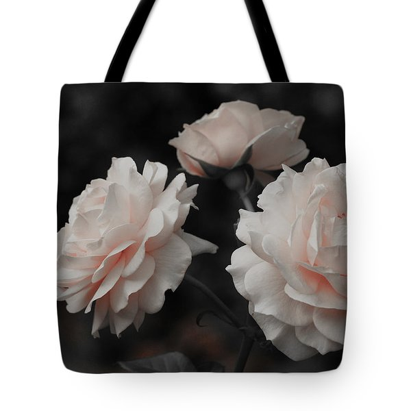 Tote Bag featuring the photograph Pink Trio by Michelle Joseph-Long