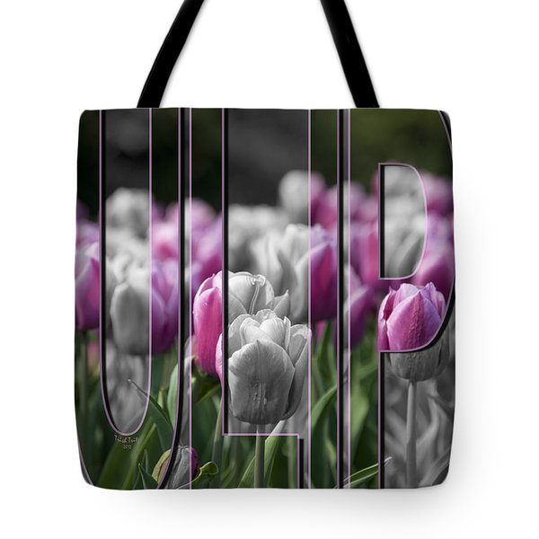Pink Tulips Tote Bag by Trish Tritz
