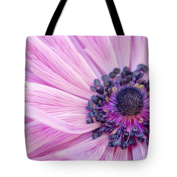 Pink Waves Tote Bag by Caitlyn  Grasso