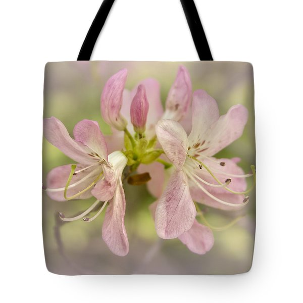Tote Bag featuring the photograph Pinkshell Azalea  by Ben Shields