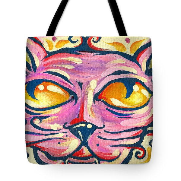 Tote Bag featuring the painting Pinky Toe by Nada Meeks