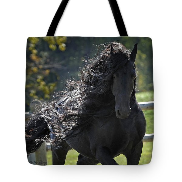 Pinnacle Of Friesians Tote Bag
