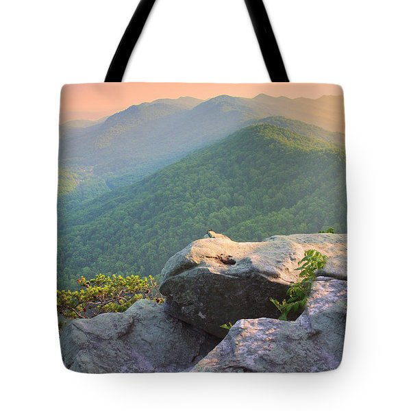 Pinnacle Rock Tote Bag