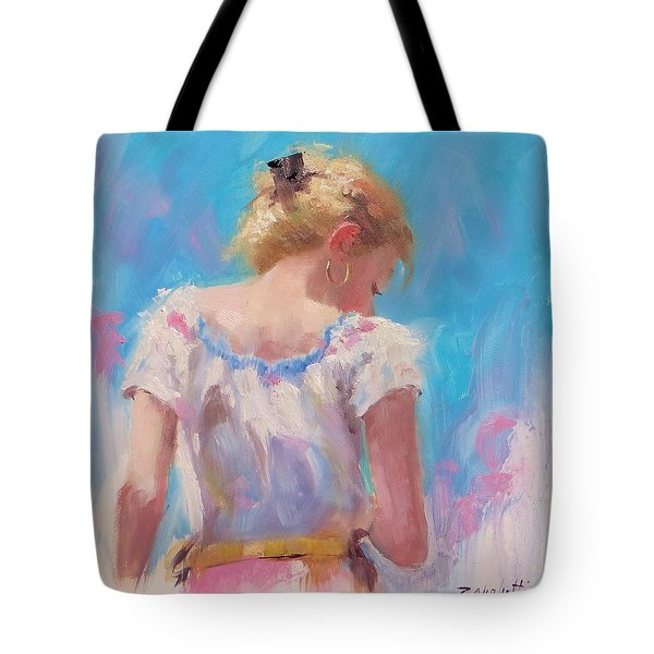 Pino Study Tote Bag by Laura Lee Zanghetti