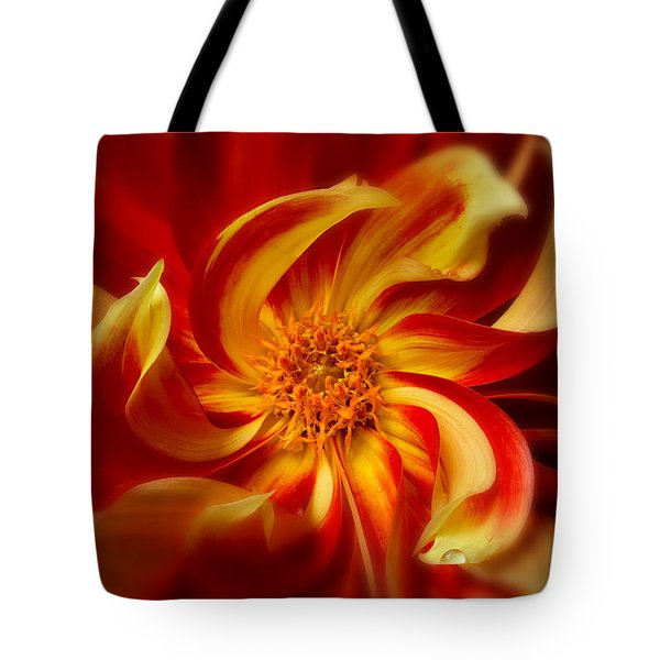 Pinwheel Tote Bag by Mary Jo Allen