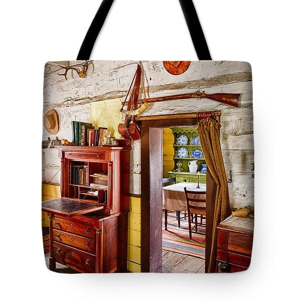 Pioneer Dining Room Tote Bag by Inge Johnsson