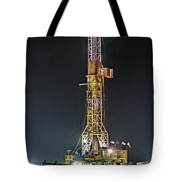 Pioneer Drill Rig # 77 Tote Bag