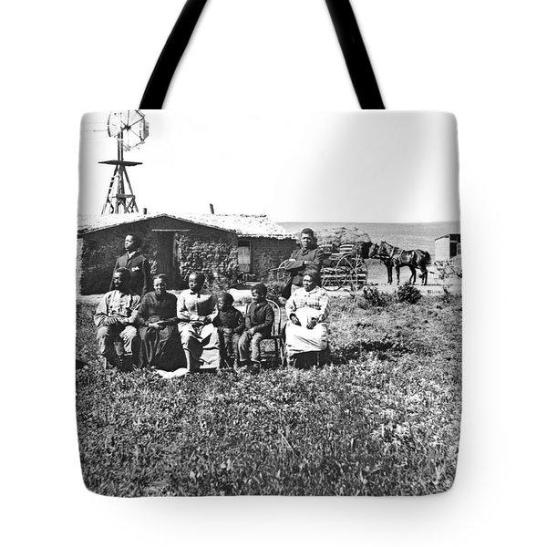 Pioneer Family Portrait Tote Bag