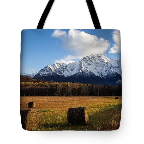 Pioneer Hay Fields Tote Bag