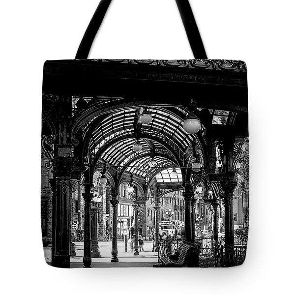 Pioneer Square Pergola Tote Bag