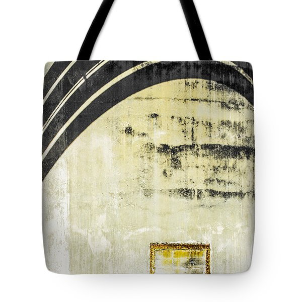 Piped Abstract 4 Tote Bag by Carolyn Marshall