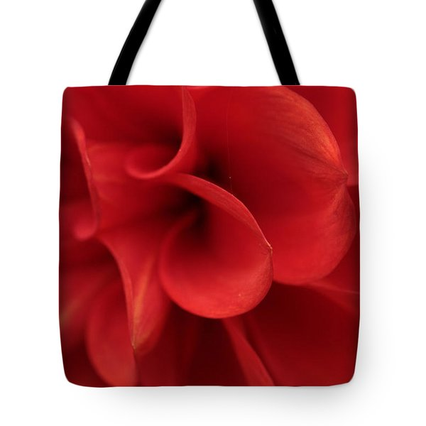 Scarlet Pipes Tote Bag