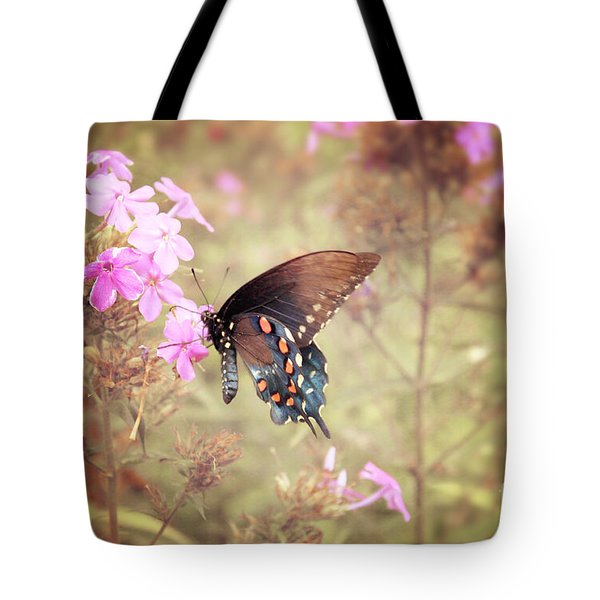 Pipevine Swallowtail Butterfly Tote Bag by Lena Auxier
