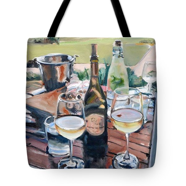 Pippin Hill Picnic Tote Bag by Donna Tuten