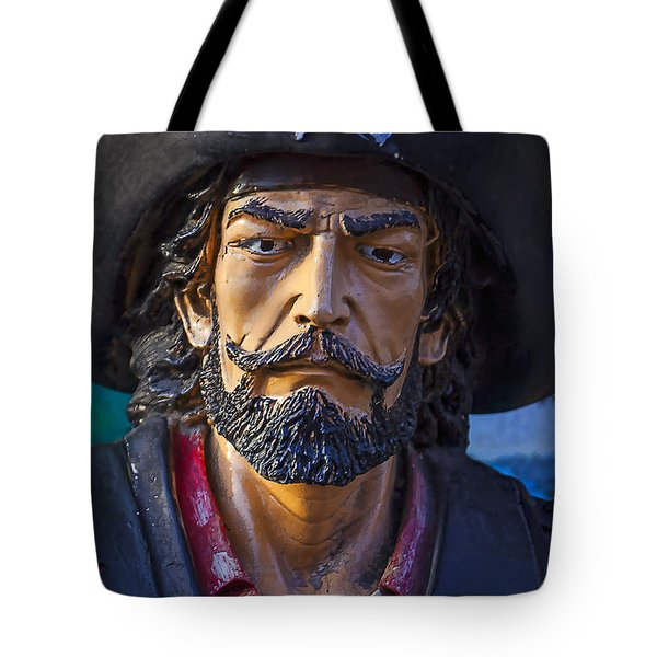 Pirate Captain Tote Bag by Garry Gay