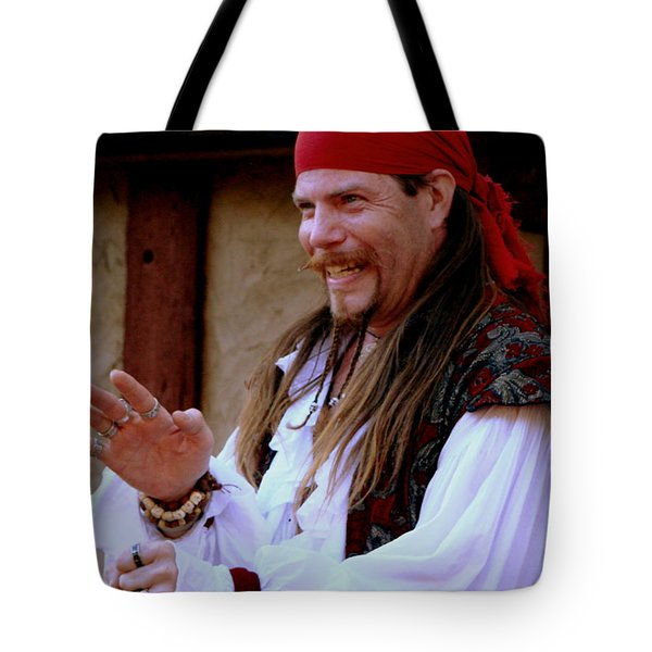 Pirate Shantyman Tote Bag