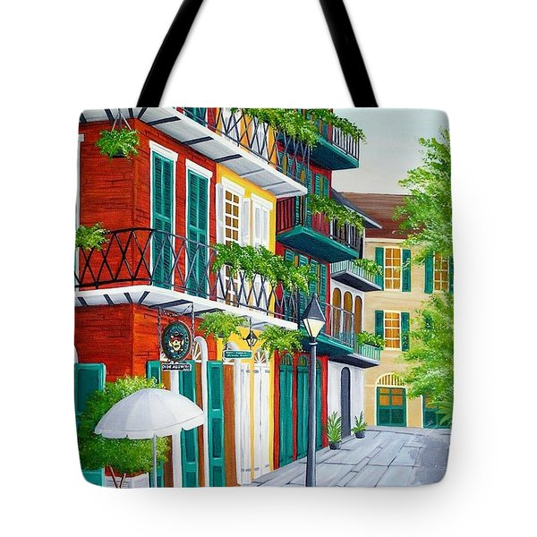 Pirates Alley Tote Bag