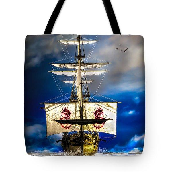 Pirates Tote Bag by Bob Orsillo