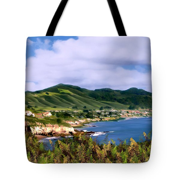 Pirates Cove Tote Bag by Kurt Van Wagner