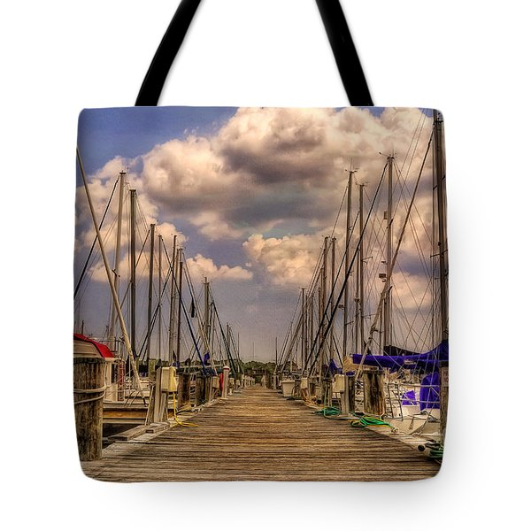 Pirate's Cove Tote Bag by Lois Bryan