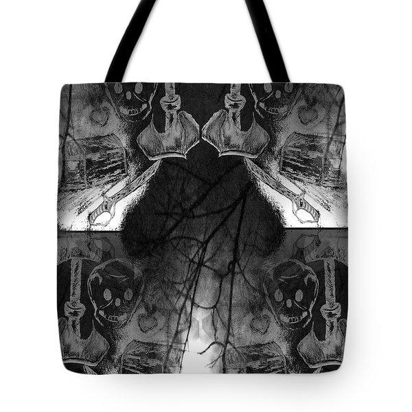 Pirate's Keepsake Tote Bag by Maria Urso