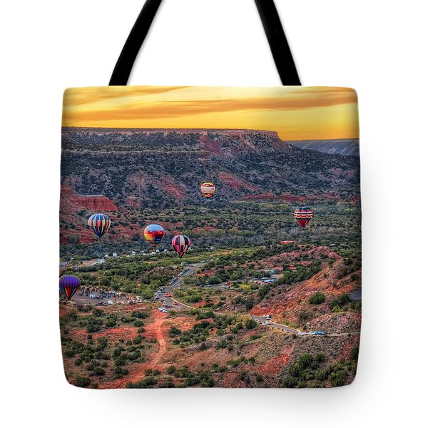 Pirates Of The Canyon Tote Bag