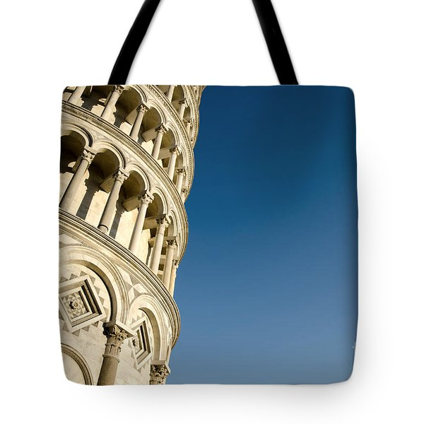 Pisa Tower Tote Bag by Mats Silvan