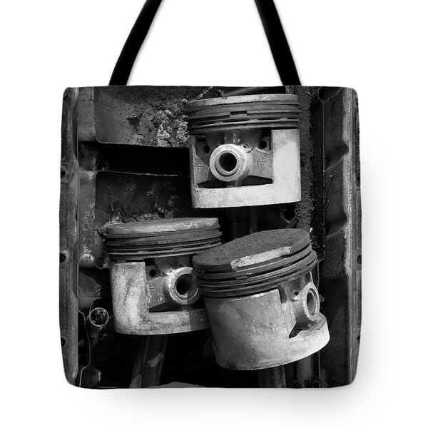 Pisotons In A Pan Tote Bag