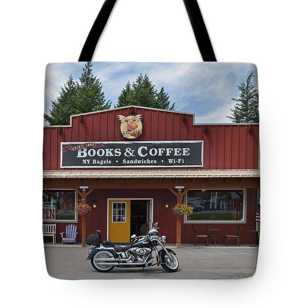 Java Stop Tote Bag