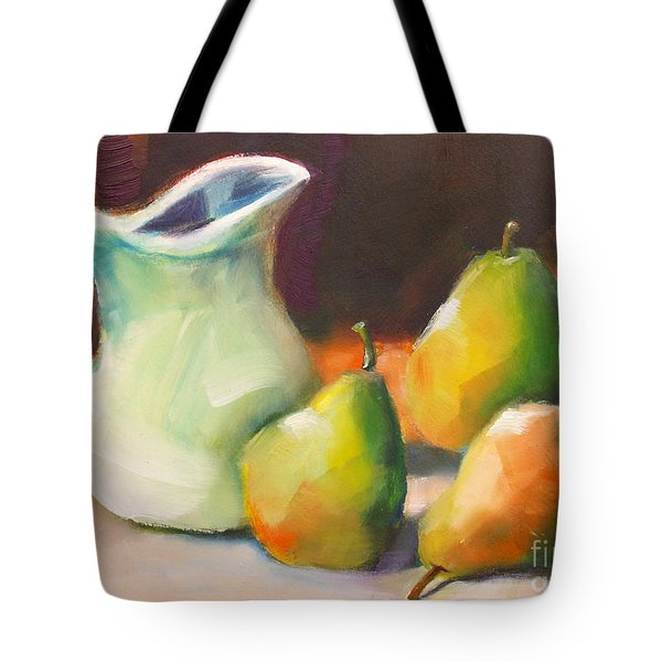 Pitcher And Pears Tote Bag