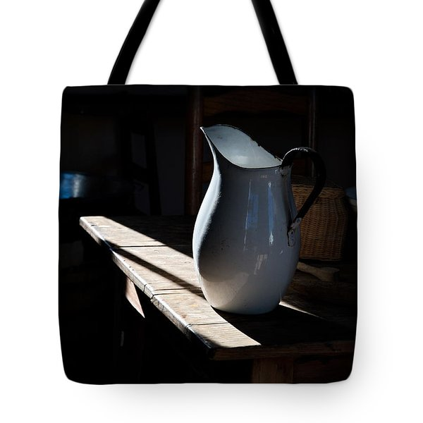 Pitcher On Table Tote Bag