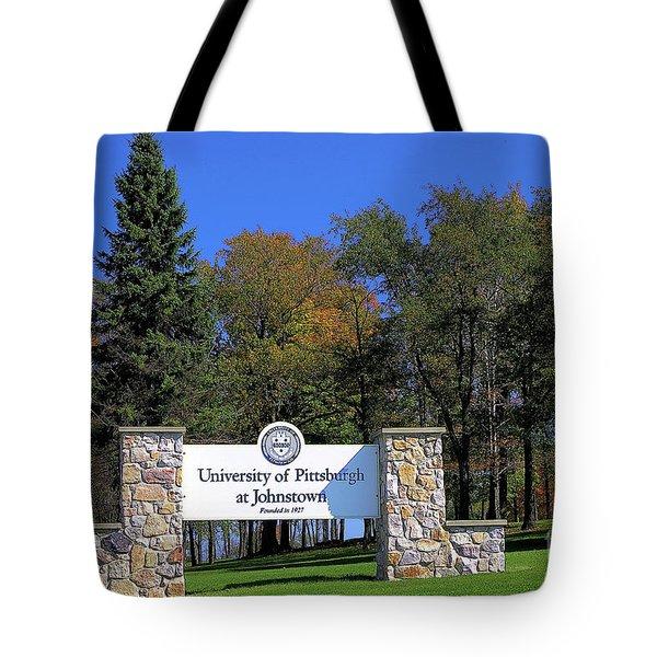 Pitt-johnstown Tote Bag