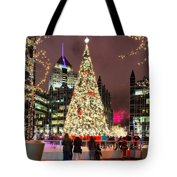 Pittsburgh Holiday Season 2 Tote Bag by Emmanuel Panagiotakis
