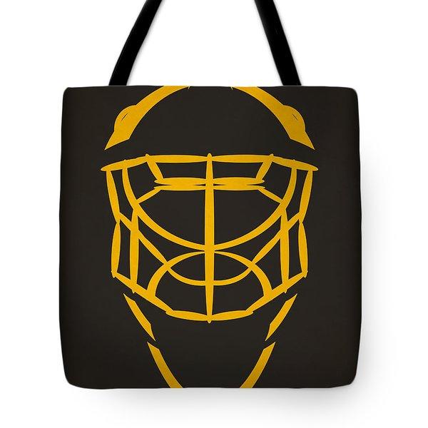 Pittsburgh Penguins Goalie Mask Tote Bag