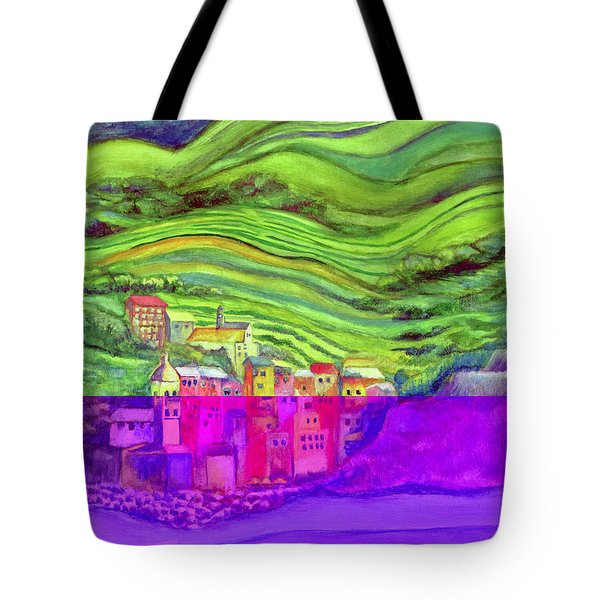 Pizza In Vernazza Tote Bag