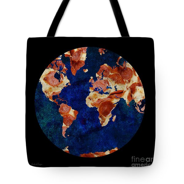 Pizza World Tote Bag