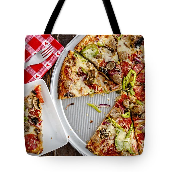 Pizza Yummmmm Tote Bag