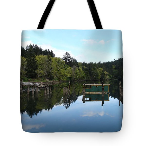 Place Of The Blue Grouse Tote Bag by Cheryl Hoyle