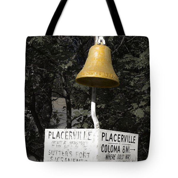 Placerville Bell Tote Bag